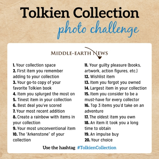 Tolkien-Collection-Photo-Challenge