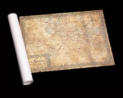 Weta Workshop Shire Map